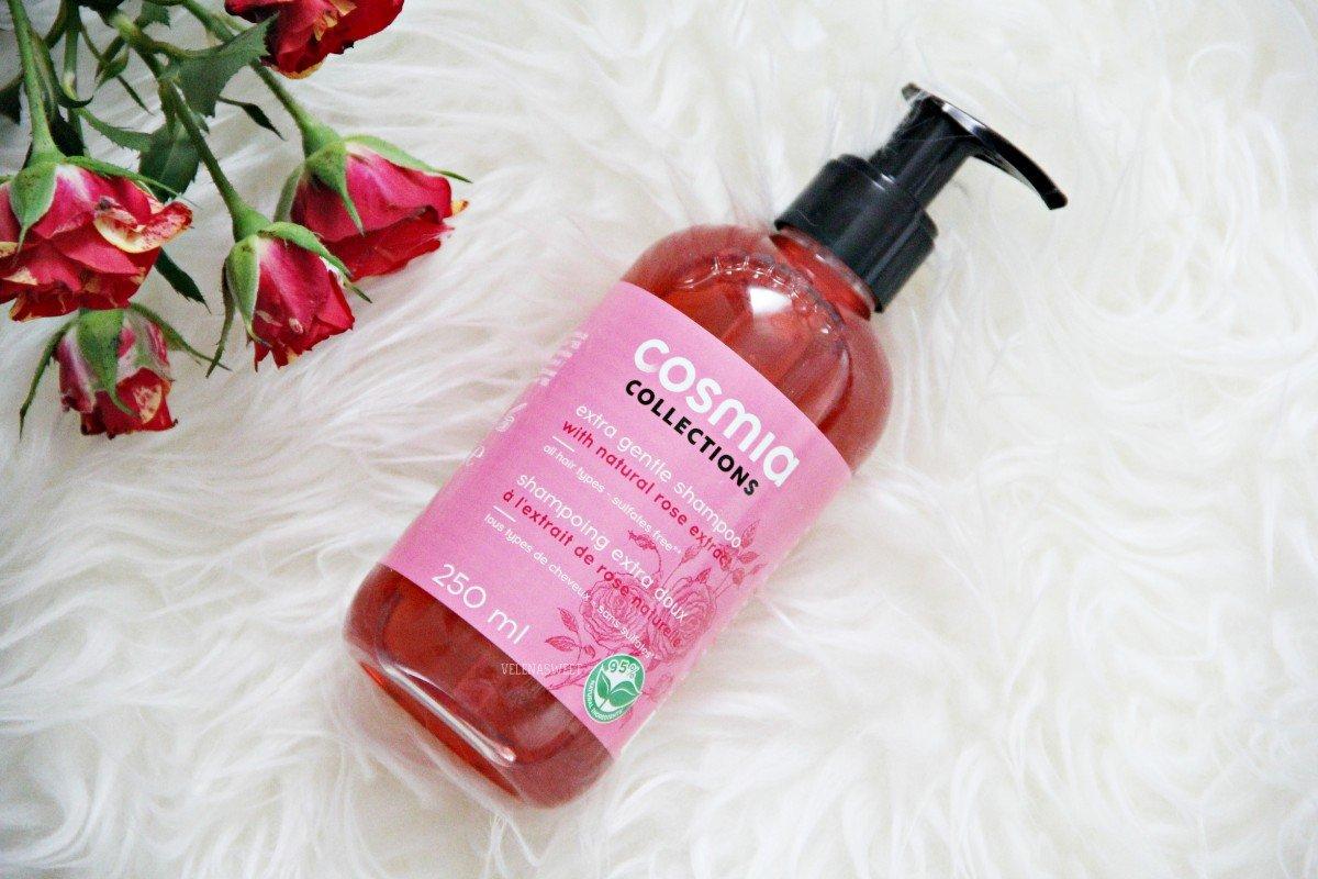 Ультраделикатный шампунь с экстрактом розы от COSMIA.