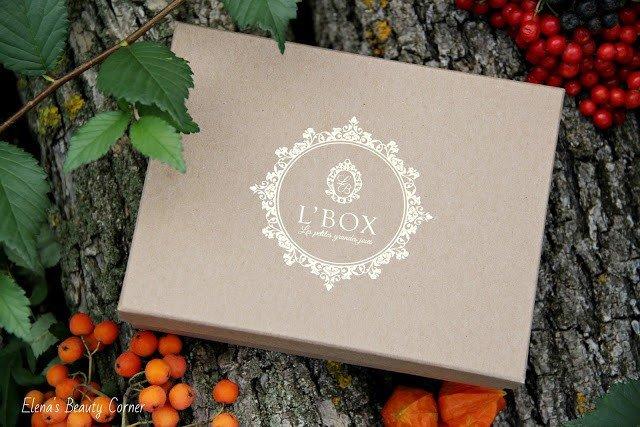 L'BOX Сентябрь 2017- наполнение.