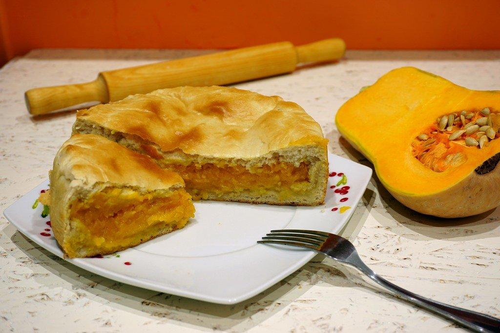 Домашний тыквенный пирог
