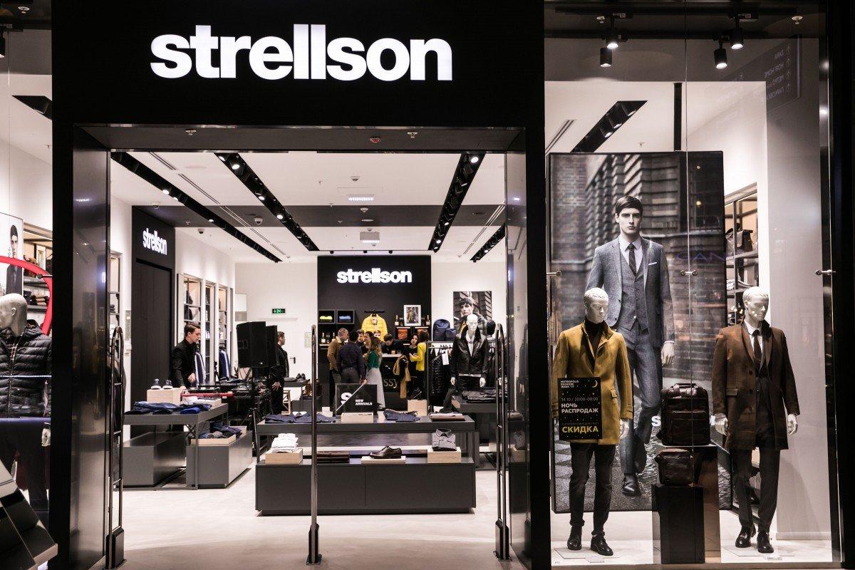 Открытие флагманского магазина Strellson  в ТЦ «Метрополис»
