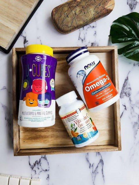 Моя посылка iHerb: детские витамины, омега-3, чай и немного сладостей