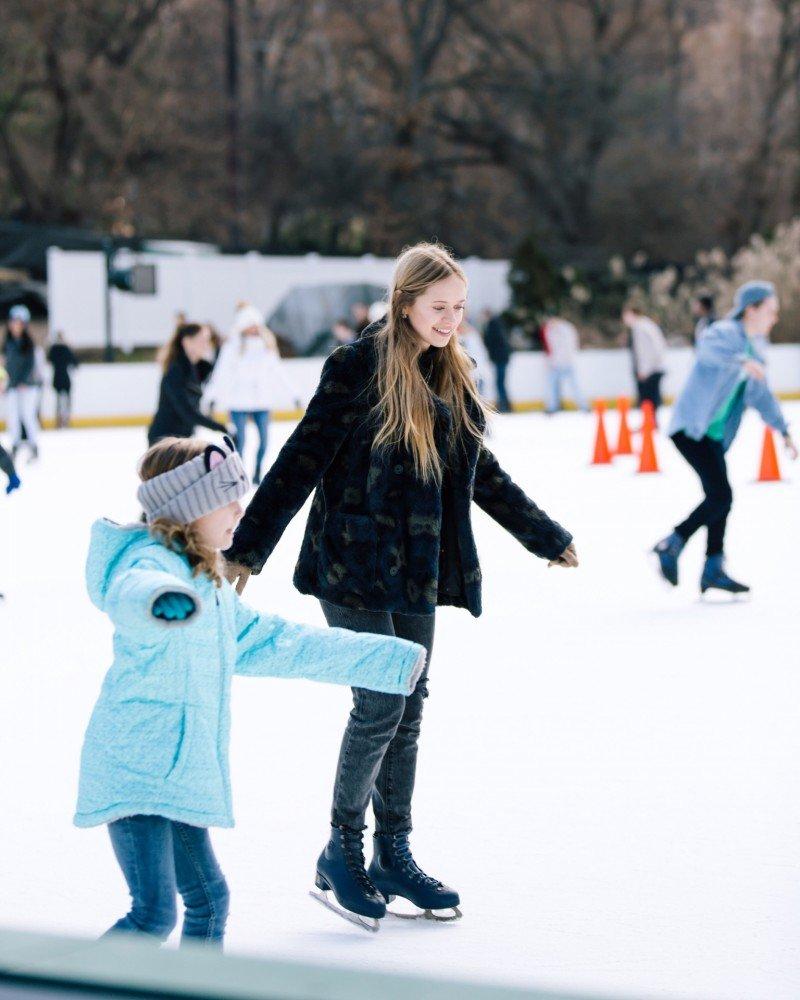 Детская мечта - Каток в Central Park и мои впечатления .