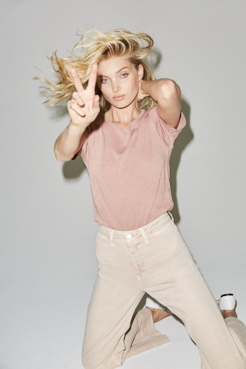 Весенняя кампания J Brand с участием моделей Эльзы Хоск и Жаклин Яблонски