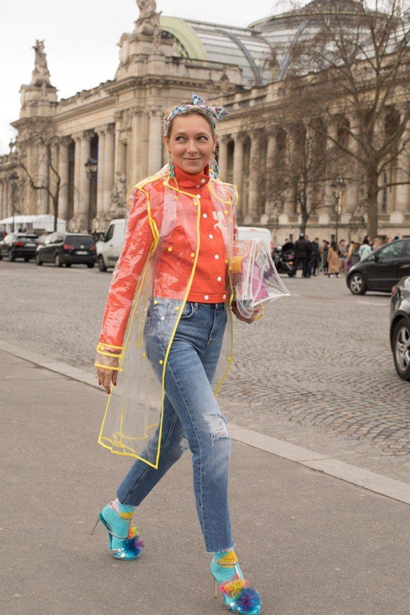 Street Style from Paris Fashion Week Fall / Winter 2018 ИЛИ Стрит стайл с недели моды в Париже