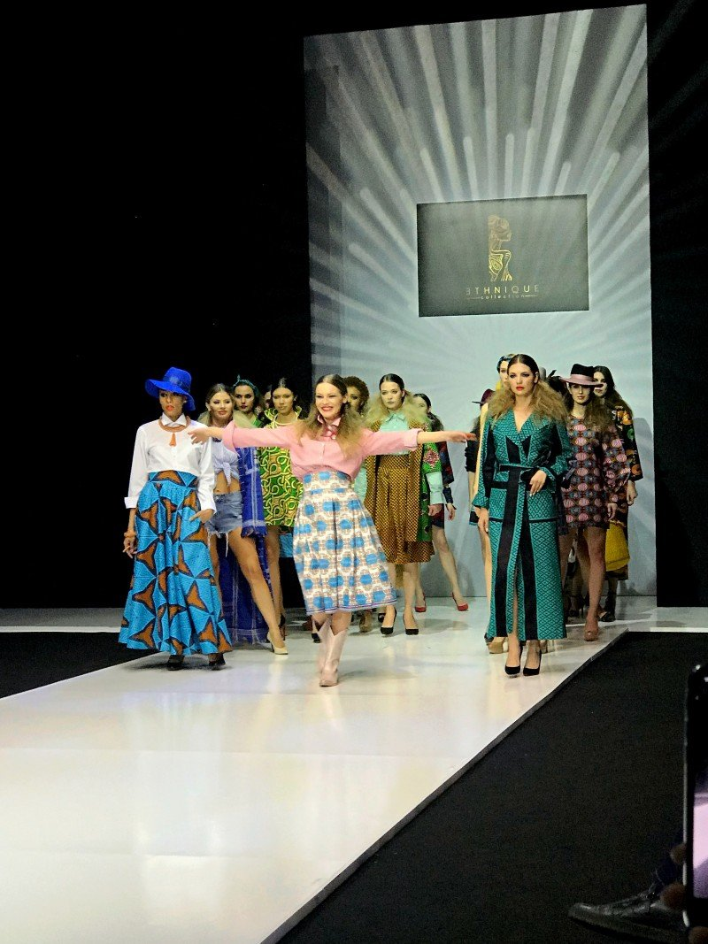 Показ ETHNIQUE COLLECTION by Kristina Adushkina в рамках MFW