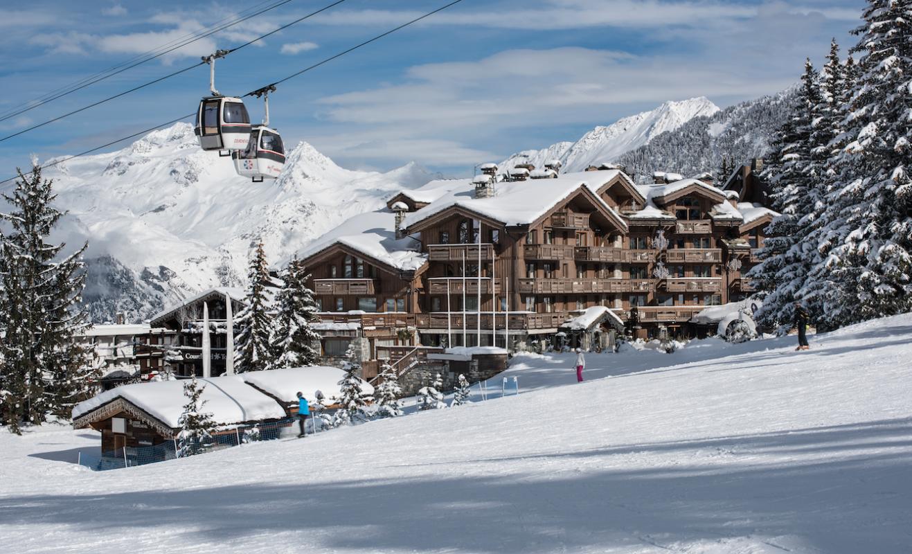 Специальное предложение для влюблённых от отеля Les Grandes Alpes