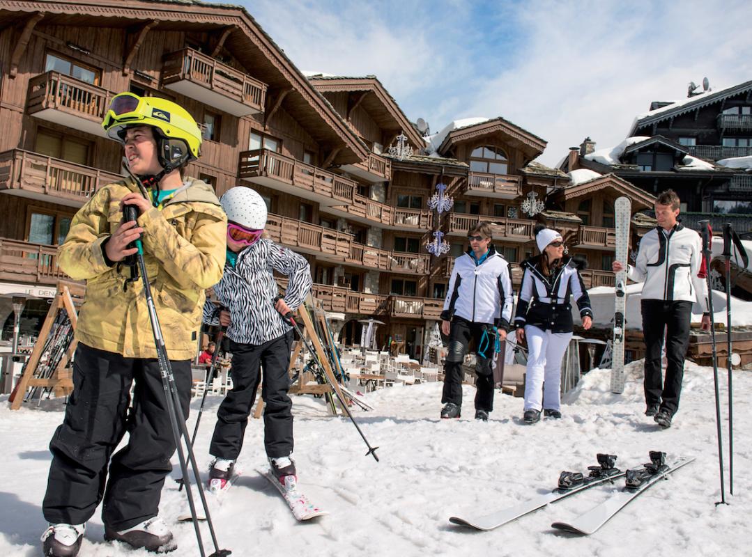 Семейный отдых в отеле Les Grandes Alpes Private Hotel