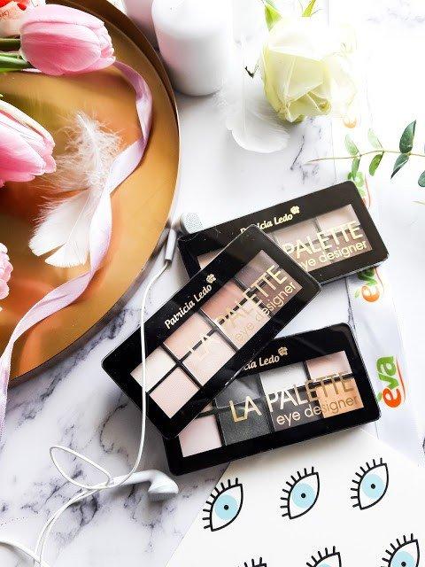 Patricia Ledo La Palette Eye Designer: палетки теней для макияжа №1, 2 и 3.