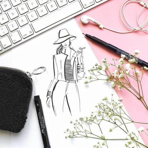 ТОП-5 инстаграм-профилей о fashion иллюстрации