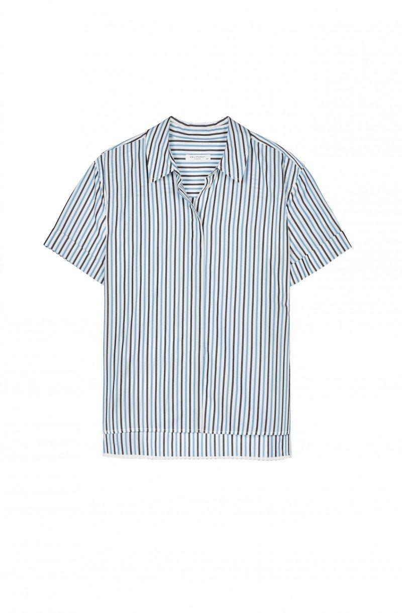 Рубашки и шелковые платья от Equipment