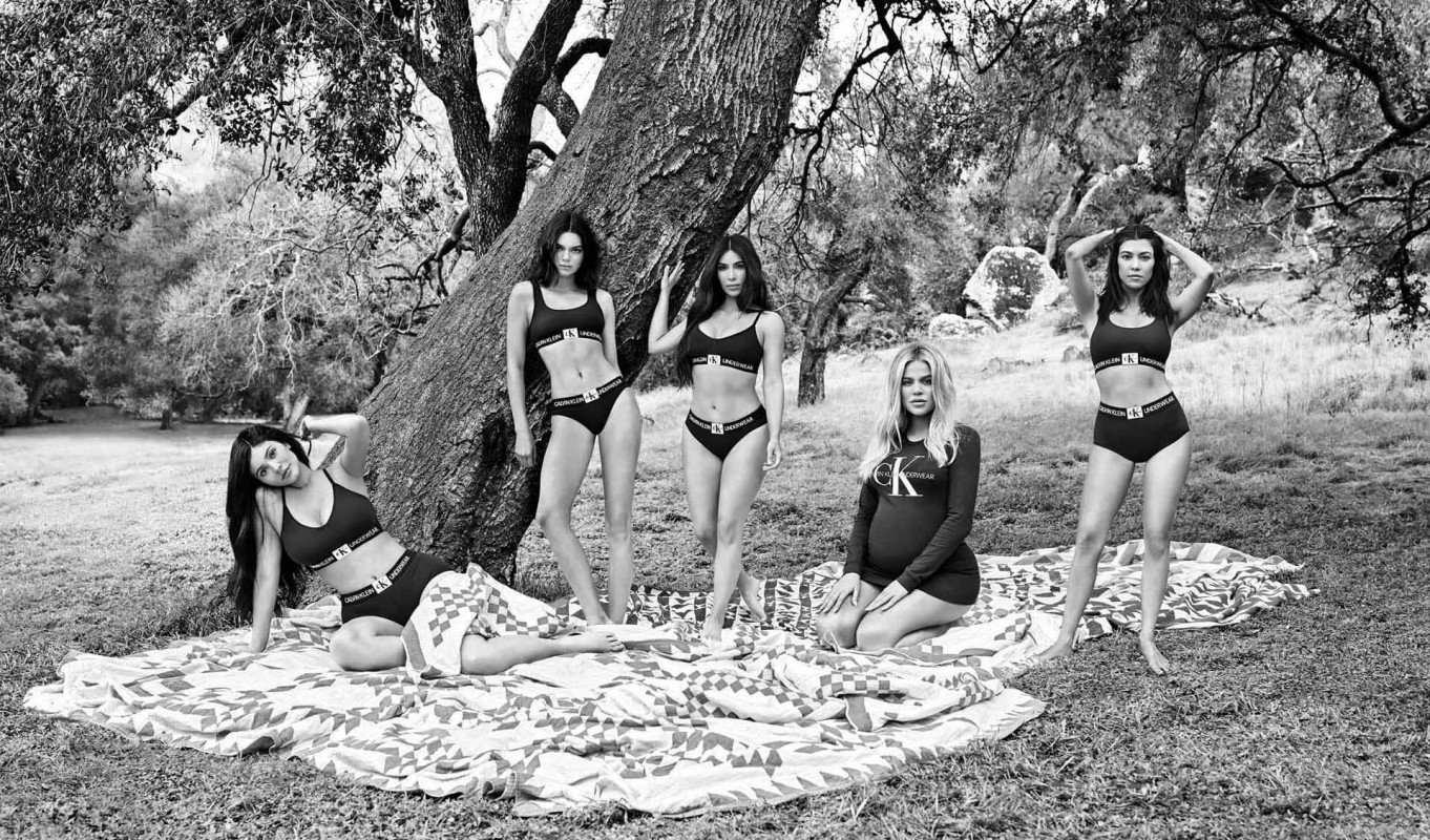 Ох уж эти Кардашьяны: новая рекламная кампания Calvin Klein