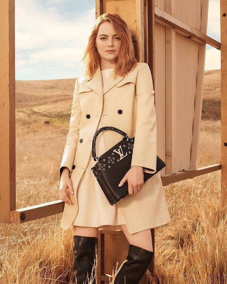 Эмма Стоун by Louis Vuitton