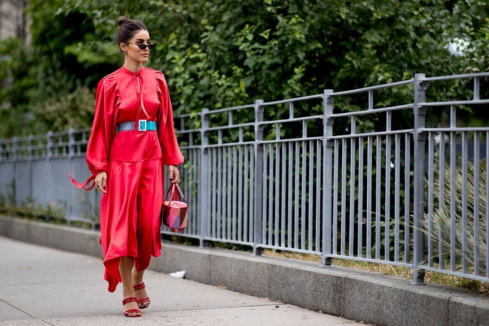 Street Style с Недели Моды в Нью-Йорке