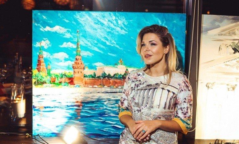 """Закрытие выставки """"Художественный мост"""" в Kalina Bar"""