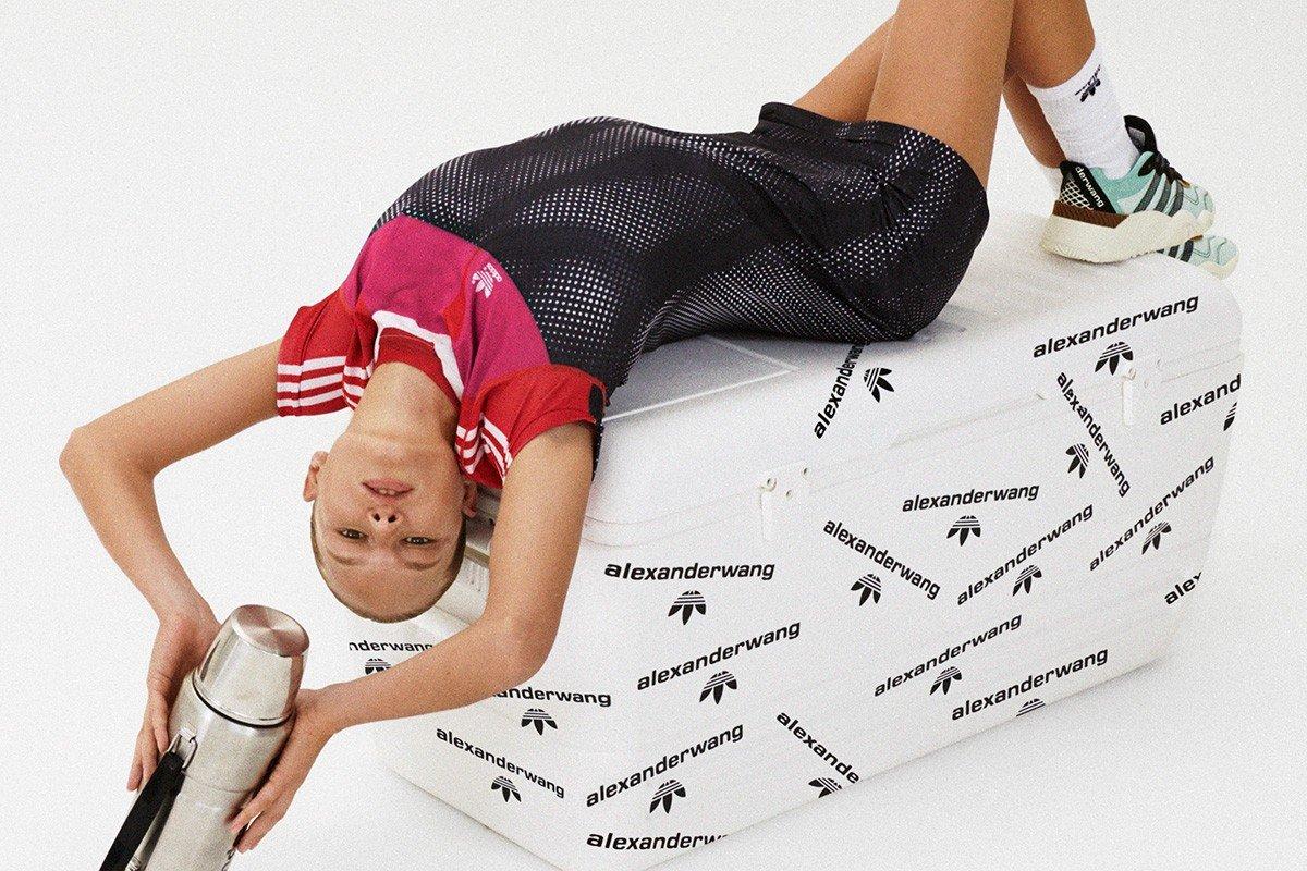 Lookbook новой коллаборации Alexander Wang и Adidas Originals