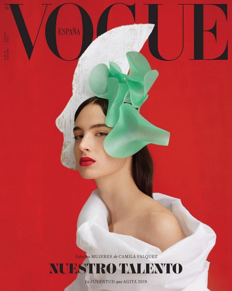 Обложку для Vogue Spain впервые сняла женщина