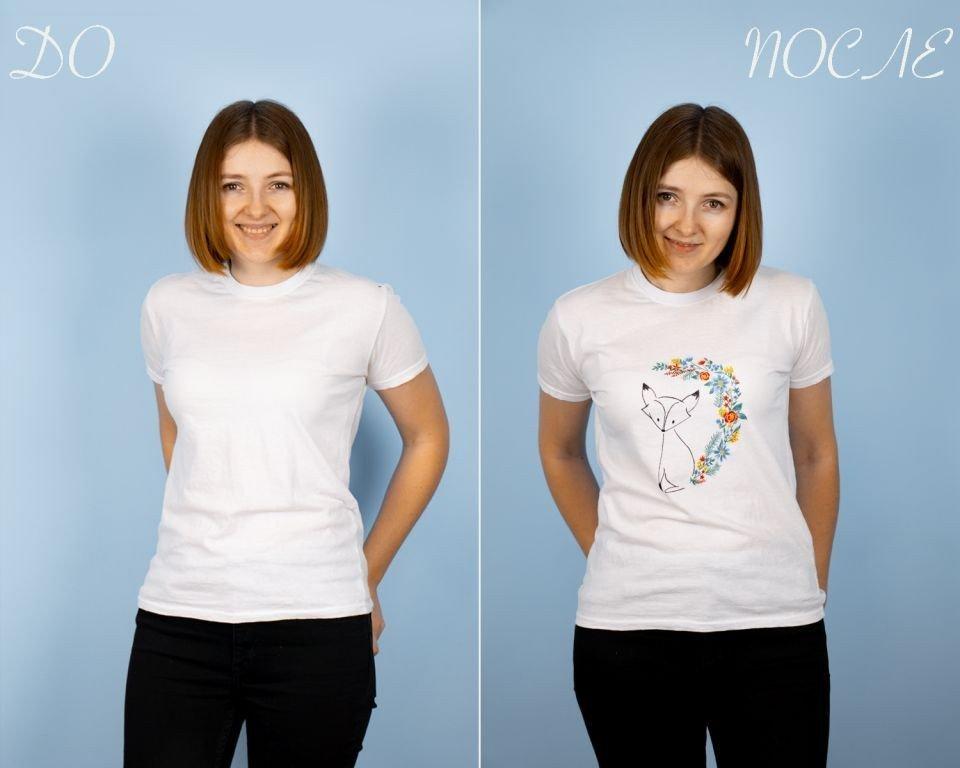 DIY: Рисунок на футболке в домашних условиях