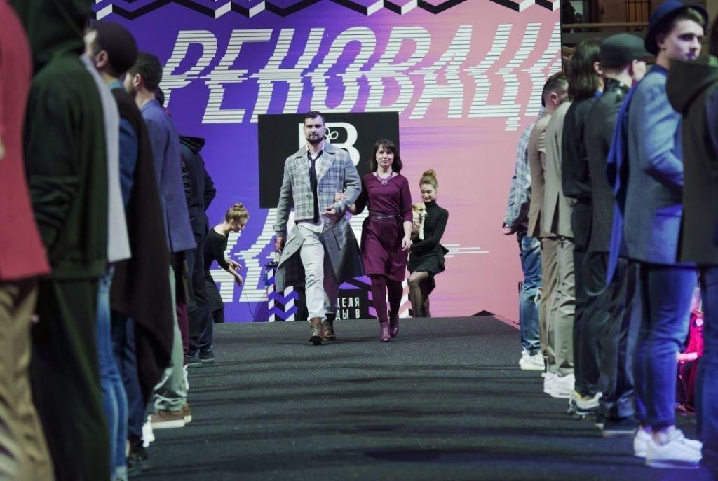 Щенячий восторг от коллекции Елены Брежневой на Неделе Моды в Москве