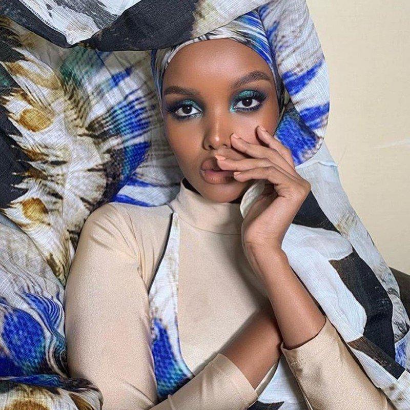 Халима Аден снялась в буркини для Sport Illustrated