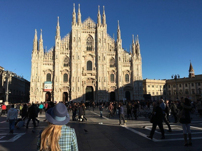 TOP 10 what to do in Milan on one day ИЛИ  10 пунктов, что успеть сделать в Милане за один день.