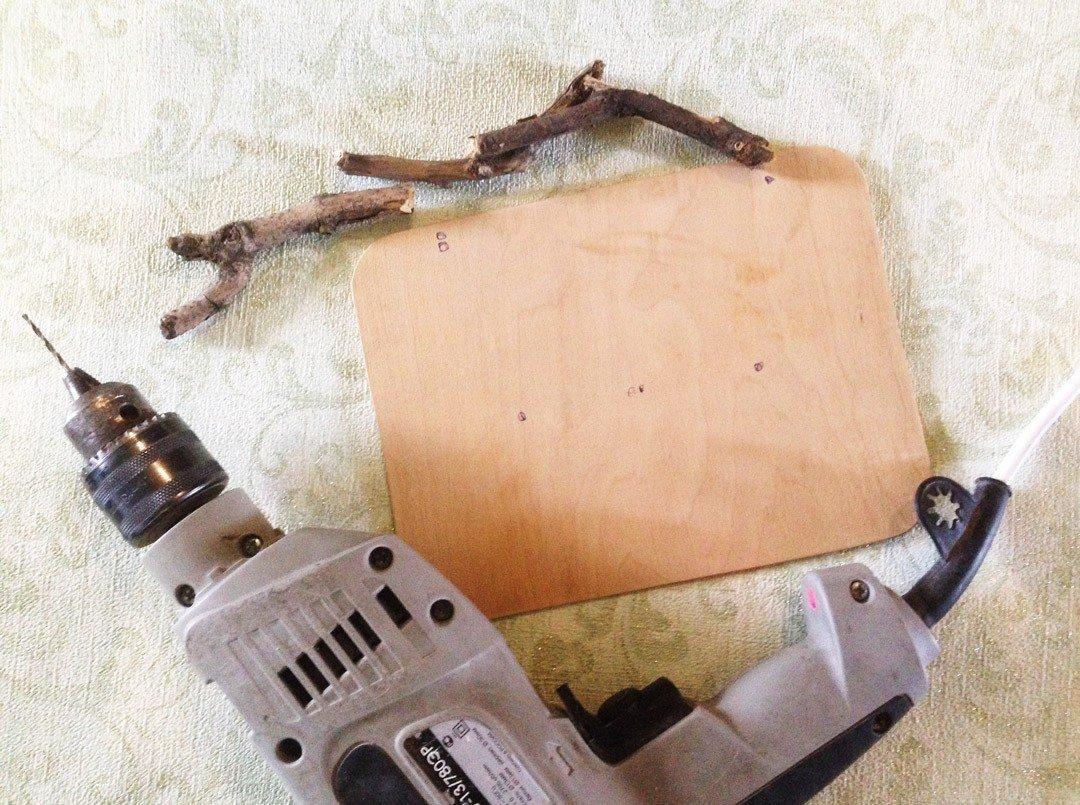 DIY: Ключница в стиле ЭкоЛофт